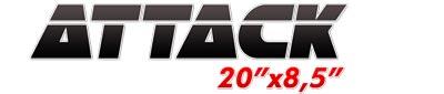 Logotipo Attack 20×8,5
