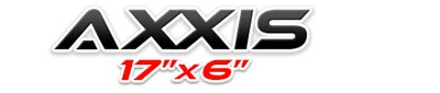 Logotipo Axxis 17×6