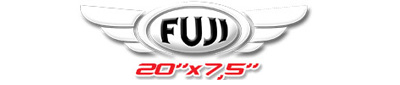 Logotipo Fuji 20×7,5