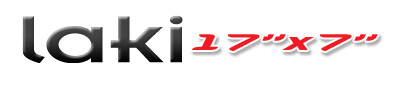 Logotipo Laki 17×7