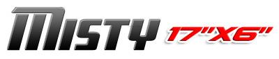 Logotipo Misty 17×6