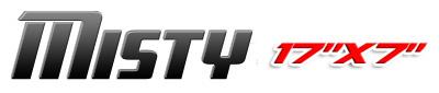 Logotipo Misty 17×7