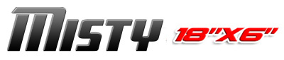 Logotipo Misty 18×6