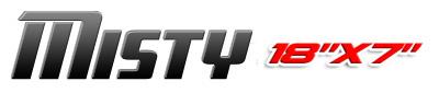 Logotipo Misty 18×7