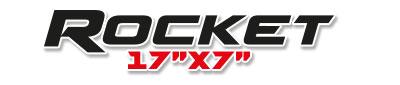 Logotipo Rocket 17×7