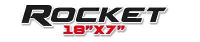 Logotipo Rocket 18×7