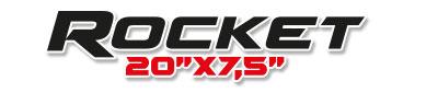 Logotipo Rocket 20×7,5