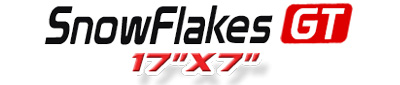 Logotipo SnowFlakes GT 17×7