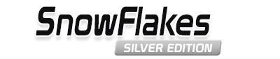 Logotipo SnowFlakes Silver Edition 17×7