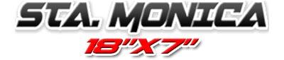Logotipo Santa Monica 18×7