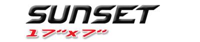 Logotipo Sunset 17×7