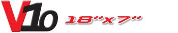 Logotipo V10 18×7