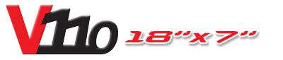 Logotipo V110 18×7