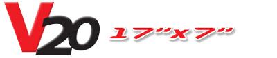 Logotipo V20 17×7