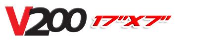 Logotipo V200 17×7
