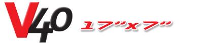Logotipo V40 17×7