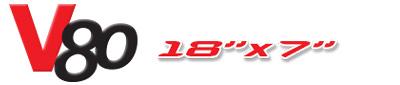 Logotipo V80 18×7