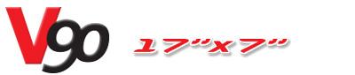 Logotipo V90 17×7