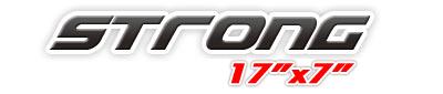 Logotipo Strong  17×7
