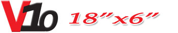 Logotipo V10 18×6