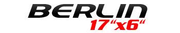 Logotipo Berlin 17″x6″
