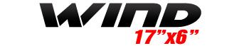 Logotipo Wind 17″x6″