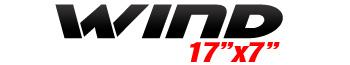 Logotipo Wind 17″x7″