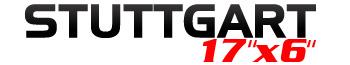 Logotipo Stuttgart 17″x6″