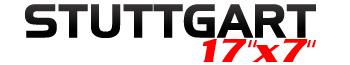 Logotipo Stuttgart 17″x7″