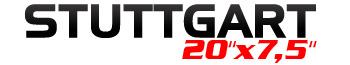 Logotipo Stuttgart 20″x7,5″