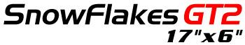 Logotipo SnowFlakes GT2 17″x6″