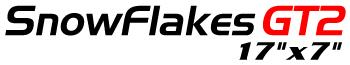 Logotipo SnowFlakes GT2 17″x7″