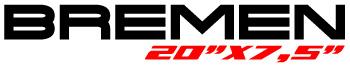 Logotipo Bremen 20″x7,5″
