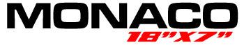 Logotipo Mônaco 18″x7″