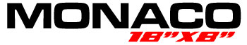 Logotipo Mônaco 18″x8″