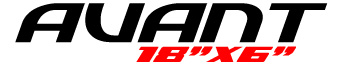 Logotipo Avant 18″x6″