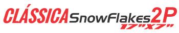 Logotipo Clássica SnowFlakes 2P 17″x7″