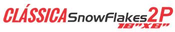 Logotipo Clássica SnowFlakes 2P 18″x8″