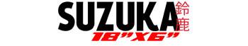 Logotipo Suzuka 18″x6″