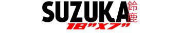 Logotipo Suzuka 18″x7″