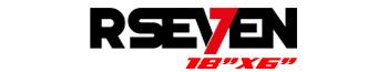 Logotipo R-Seven 18″x6″