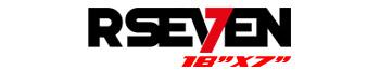 Logotipo R-Seven 18″x7″