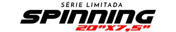 Logotipo Spinning 20″x7,5″