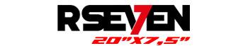 Logotipo R-Seven 20″x7,5″