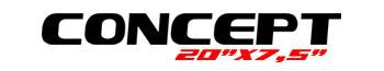 Logotipo Concept 20″x7,5″
