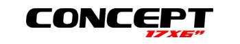 Logotipo Concept 17″x6″