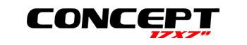 Logotipo Concept 17″x7″
